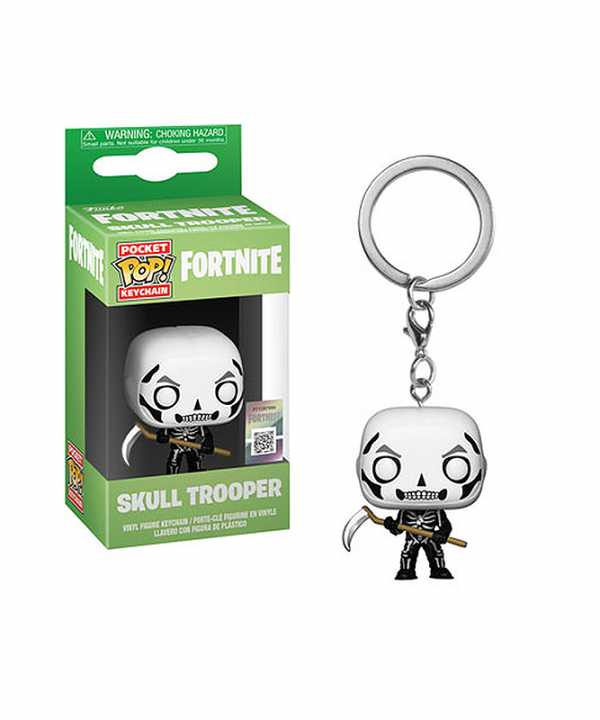 Chaveiro Fortnite - Skull Trooper - Funko Pop!