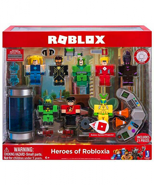 Roblox - Heroes of Robloxia Playset
