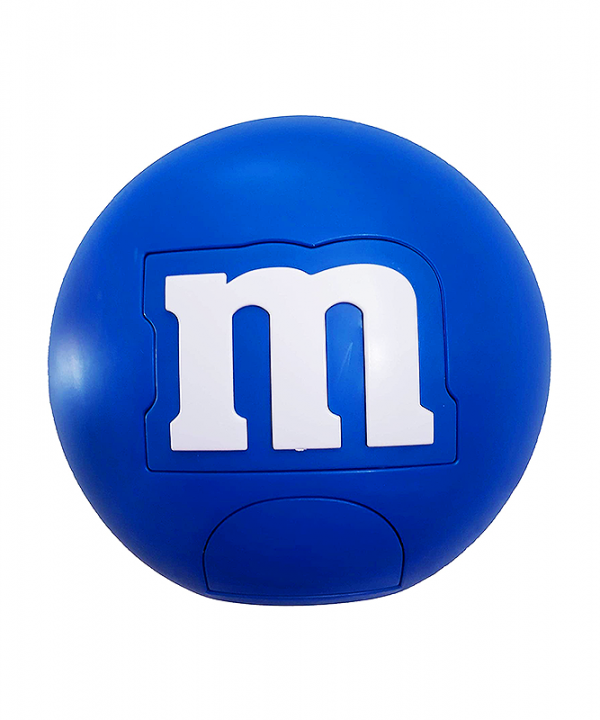 M&M - Dispenser Redondo de Chocolates - Azul