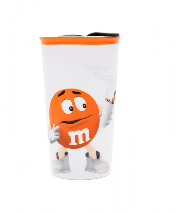 M&M - Copo de Porcelana