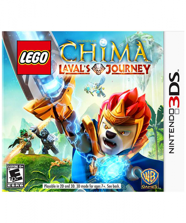 Nintendo 3DS - Lego Chima - Laval's Journey