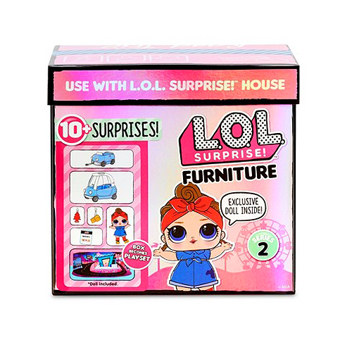 L.O.L. Surprise - Furniture - Road Trip with Can Do Baby + 10 Surpresas