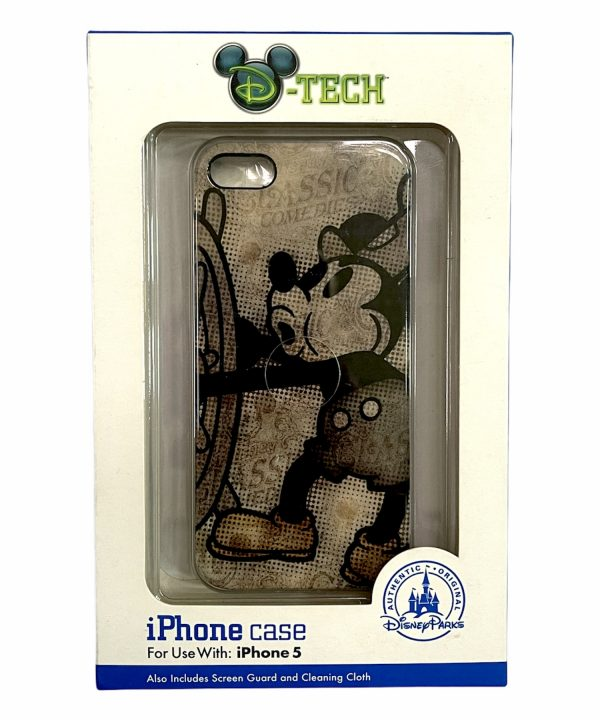 Disney - iPhone 5/5S - Steamboat Willie