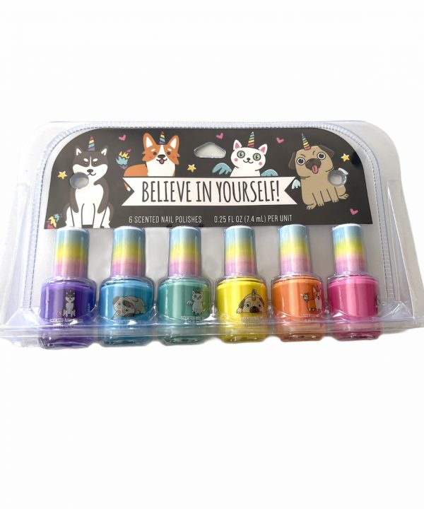 Esmalte - Believe in Yourself - 6 cores