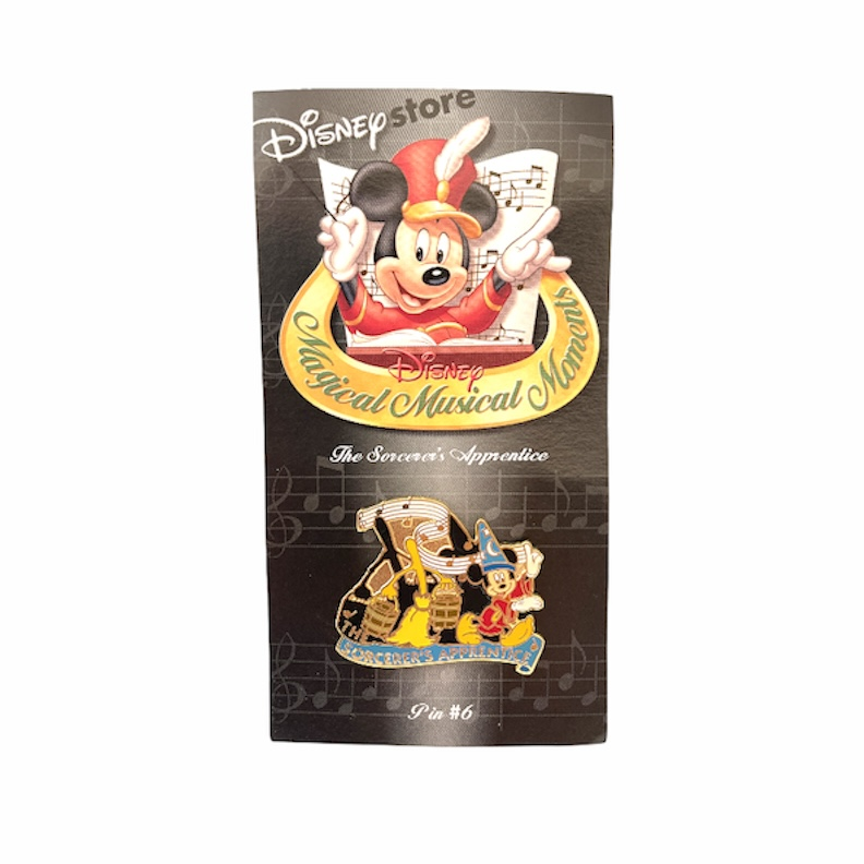 Disney Store - Pin - Sorcerer Mickey - Magical Moments