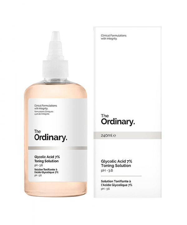 The Ordinary - Tônico de Ácido Glicólico 7% - 240mL