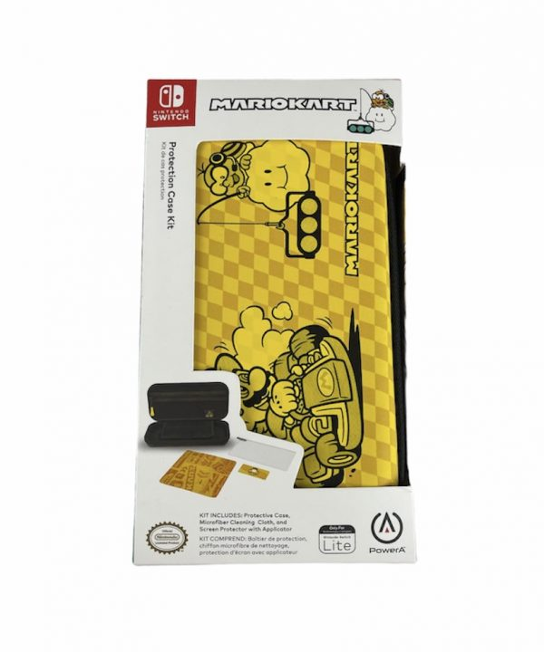 Case - Nintendo Switch Lite - Super Mario Kart - Amarela